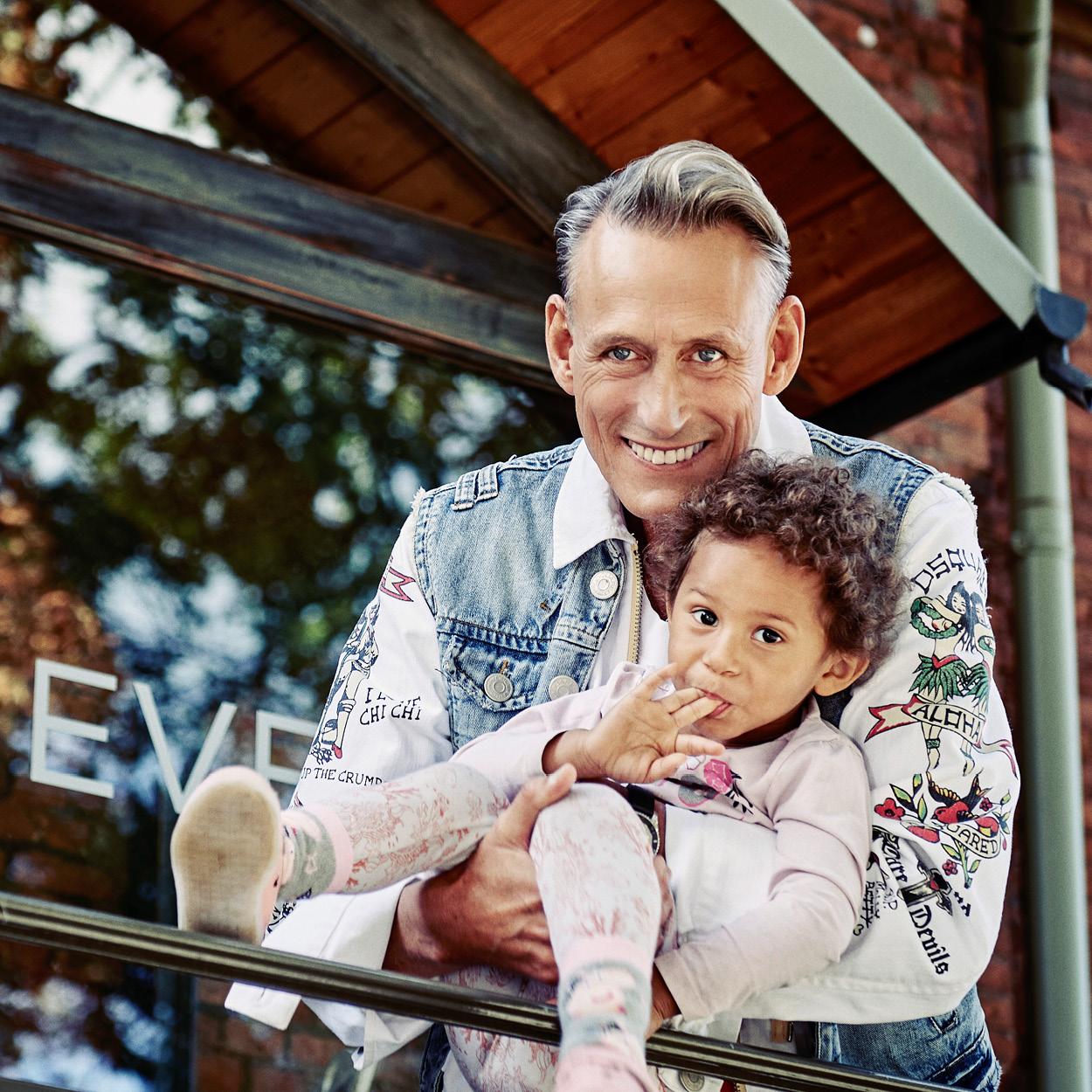 Andreas und kleiner Junge